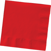 Creative Converting Classic 2-Ply Lunch Napkins - Red