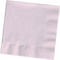 Creative Converting Beverage Napkins - 50 Pack - Classic Pink