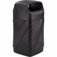 Safco Twist Waste Receptacle 9371BL