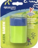 Westcott KleenEarth Pencil and Crayon Sharpener