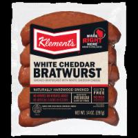 Klement's® White Cheddar Bratwurst - 14 oz