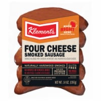 Klement's Four Cheese Smoked Sausage