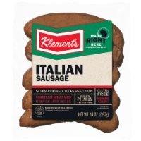Klement's Cooked Italian Sausage