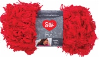 Red Heart Boutique Fur Yarn-Cherry - 1