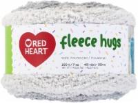 Red Heart Fleece Hugs Yarn-Perfect Plum - 1