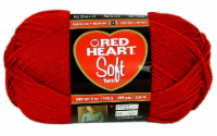 Red Heart Soft Yarn - Really Red