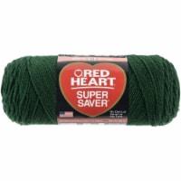 Red Heart Super Saver Yarn-Hunter Green - 1