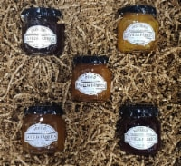 Holiday Fruit Spread Gift Box Collection - 5 jars (Variety)