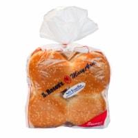 S. Rosen's Sesame Seed Burger Buns - 8 ct / 15 oz