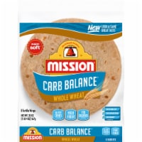 Mission Carb Balance Whole Wheat Burrito Tortillas 8 Count