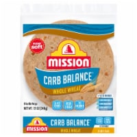 Mission Carb Balance Whole Wheat Tortillas 8 Count