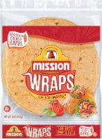 Mission Sun-Dried Tomato Basil Wraps 6 Count