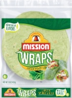 Mission Garden Spinach Herb Wraps