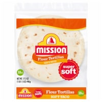 Mission Soft Taco Flour Tortillas