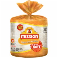 Mission Super Soft White Corn Tortillas 80 Count