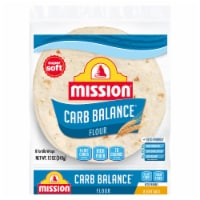 Mission Carb Balance Soft Taco Flour Tortillas 8 Count