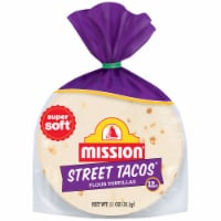 Mission Street Taco Flour Tortillas 12 Count