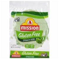 Mission Gluten Free Spinach Herb Tortillas 6 Count