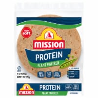 Mission Protein Plant Powered Tortilla Wraps 6 Count