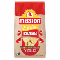 Mission Tortilla Triangles - 13 oz