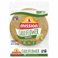 Mission Gluten Free Cauliflower Flour Tortilla Wraps - 6 ct / 7 oz