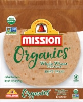 Mission Organic Whole Wheat Tortillas 6 Count