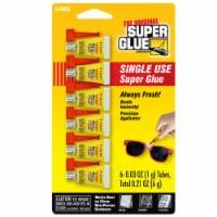 The Original Super Glue Corporation  High Strength  Cyanoacrylate  All Purpose Super Glue  6 - Case of: 12