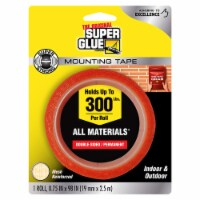 Super Glue Double Sided Tape,2 3/4 yd L,3/4  W  90017 - 1