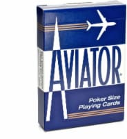 Bicycle® Aviator Poker Size Playing Cards - Assorted