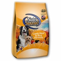 Nutri Source Lamb and Rice Cubes Dog Food 30 lb. - Case Of: 1;