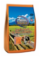 Nutri Source Lamb Meal & Peas Cubes Dog Food Grain Free 5 lb. - Case Of: 1; - Count of: 1
