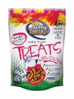 Nutri Source Salmon Grain Free Treats For Dogs 6 oz. 1 pk - Case Of: 1; Each Pack Qty: 1;
