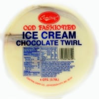 Central Chocolate Twirl Ice Cream - 128 Fl Oz
