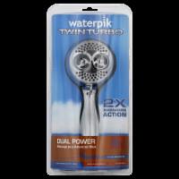 Waterpik® TwinTurbo Dual Power Showerhead