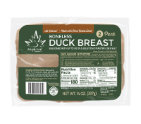 Maple Leaf Farms All Natural Boneless Duck Breast 2 Pack - 14 oz