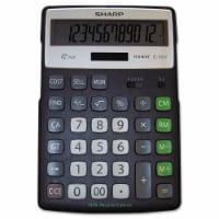 EL-R297BBK Recycled Series Calculator w/Kickstand, 12-Digit LCD ELR297BBK - 6 4/5 x 10 4/5