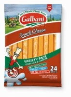 Galbani Cheddar & Colby Jack String Cheese