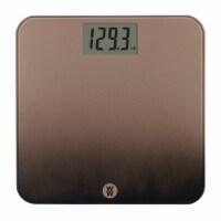 Weight Watchers Digital Glass Scale - Oil Bronze Ombre