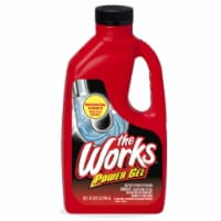 The Works Professional Strength Liquid Drain Opener 32 oz. - Case Of: 12; - Case of: 12