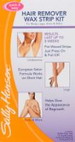 Sally Hansen Hair Removal Wax Strip Kit