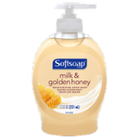 Softsoap Milk & Golden Honey Moisturizing Liquid Hand Soap