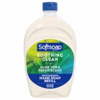 Softsoap Soothing Aloe Vera Moisturizing Hand Soap Refill