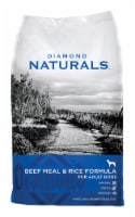 Diamond Naturals Beef and Rice Dog Food 40 lb. - Case Of: 1; - Count of: 1