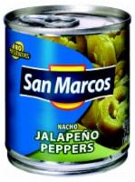 San Marcos Nacho Jalapeno Peppers - 7 oz