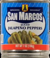San Marcos Sliced Jalapeno Peppers - 7 oz