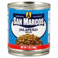 San Marcos Diced Jalapeno - 7 oz