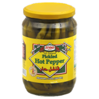 Ziyad Pickled Hot Peppers - 12 oz