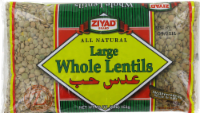 Ziyad Large Whole Lentils - 16 Oz