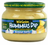 Wild Garden Roasted Garlic Hummus Dip
