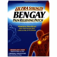 Bengay Ultra Strength Pain Regular Size Pain Relieving Patches